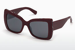Ophthalmic Glasses Swarovski SK0203 69C - Burgundy, Bordeaux, Shiny